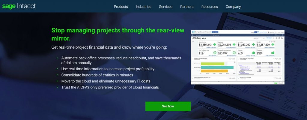 Sage Intacct Professional Services
