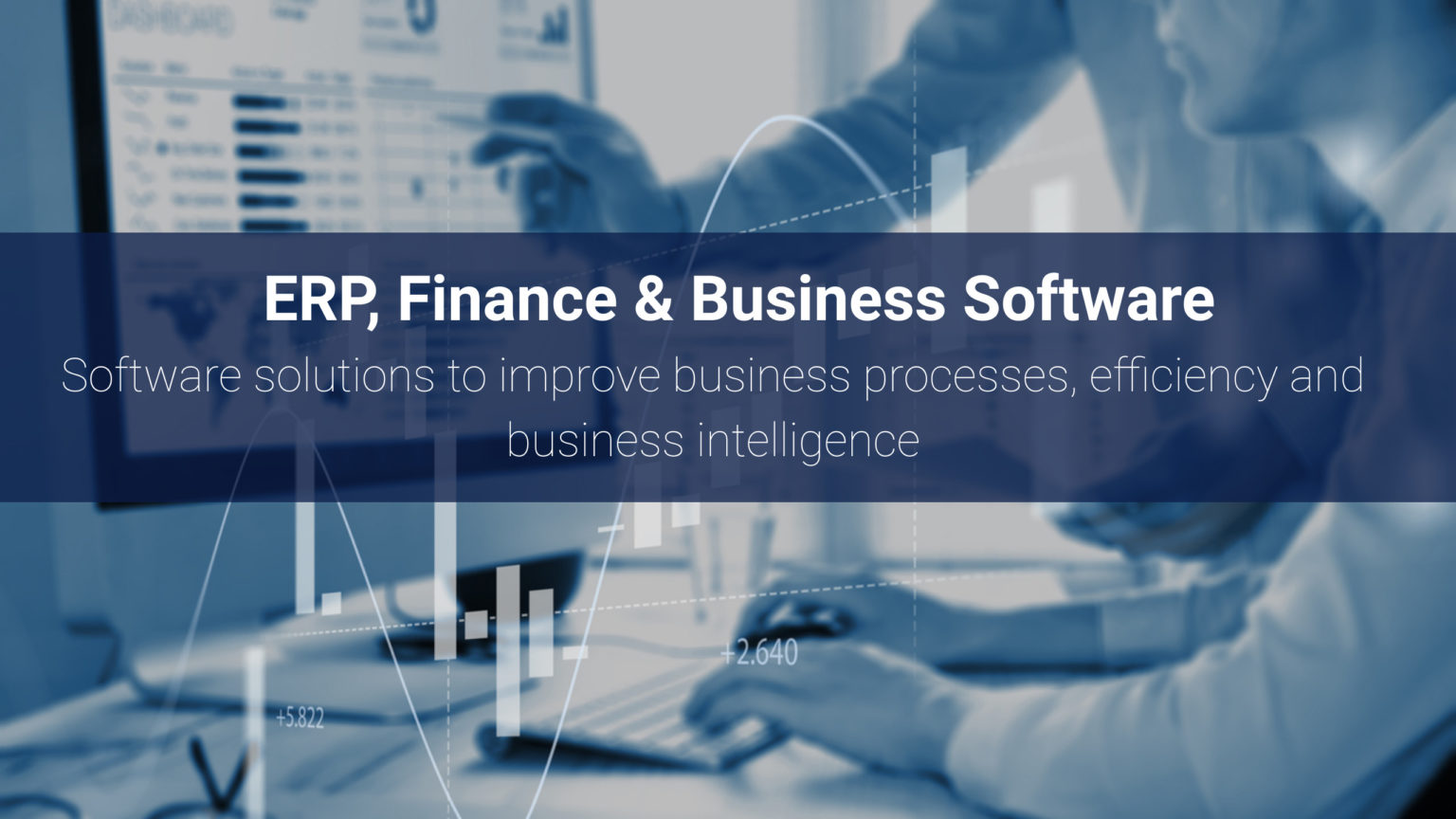 ERP, Finance & Accounting Software